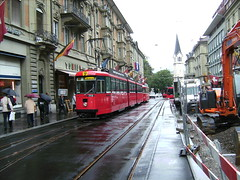 Oldest tram of Bern