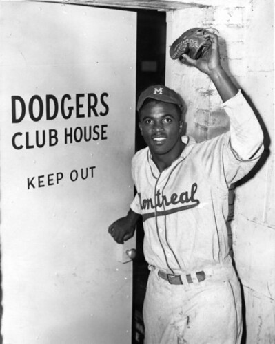 Jackie Robinson of the Montreal Royals