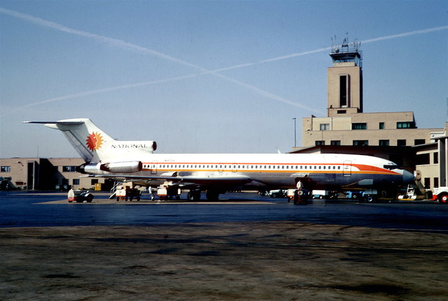 National Airlines Boeing 727-235; N4734, April 1968/ DTF