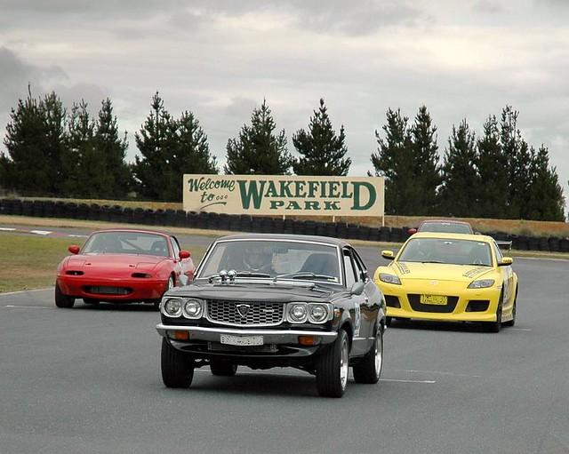 Mazda Trio @ Wakefield