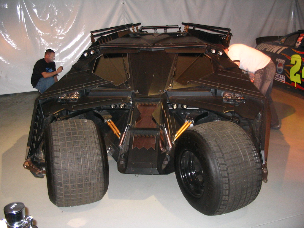 Batmobile in Warner Studios LA