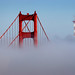 Golden Gate Bridge and Sutro Tower by Rob Kroenert