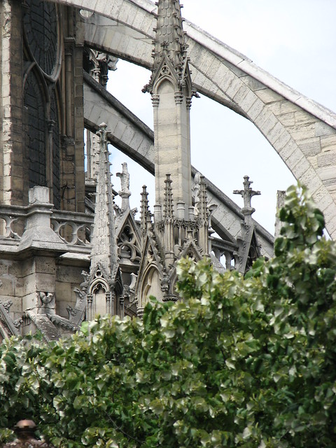 Flying Buttresses Notre Dame Paris Flickr Photo