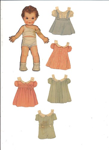 Queen Holden Paper Dolls 15. incl. doll with arm reattached