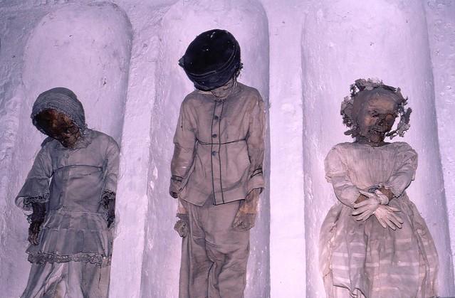 Capuchin catacombs children