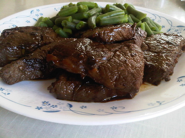 ... Eating » Homemade from scratch boneless Korean style beef short ribs