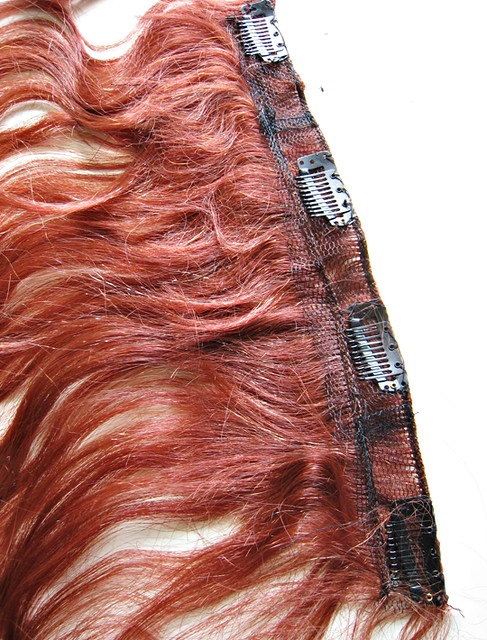 Sewing Wig Clip To Hair 105