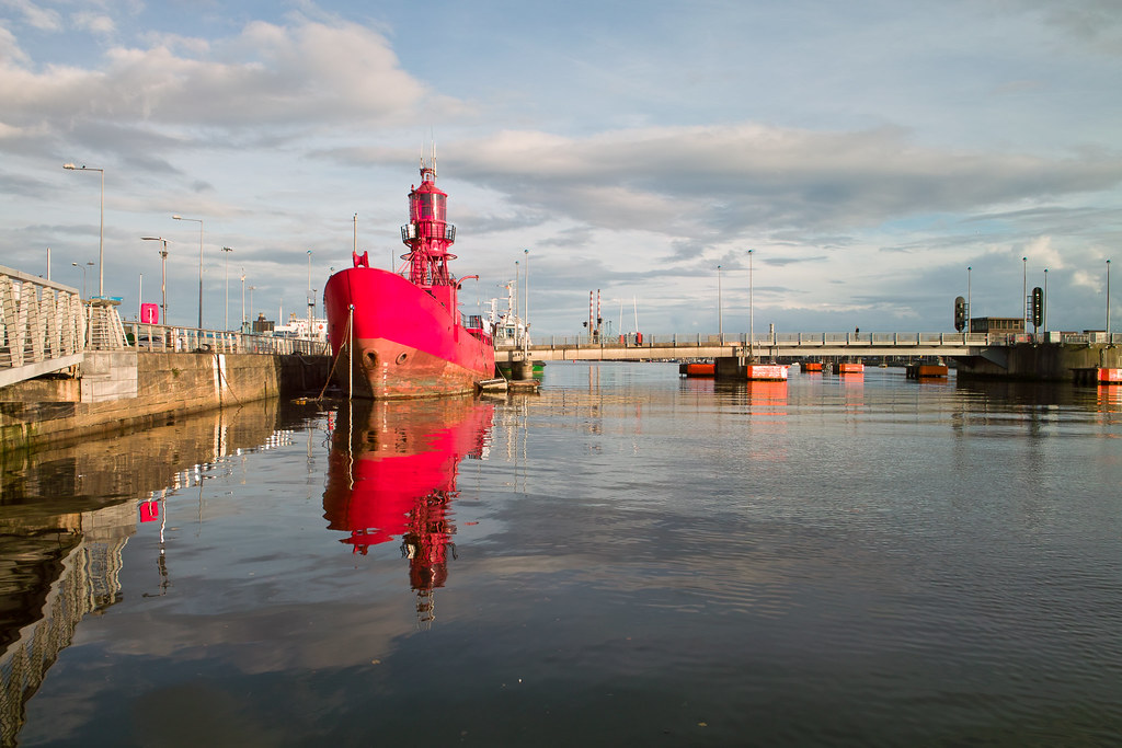 Dublin Docklands - An Old Lightship