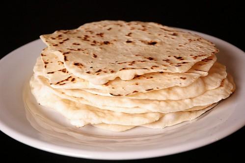 homemade tortilas