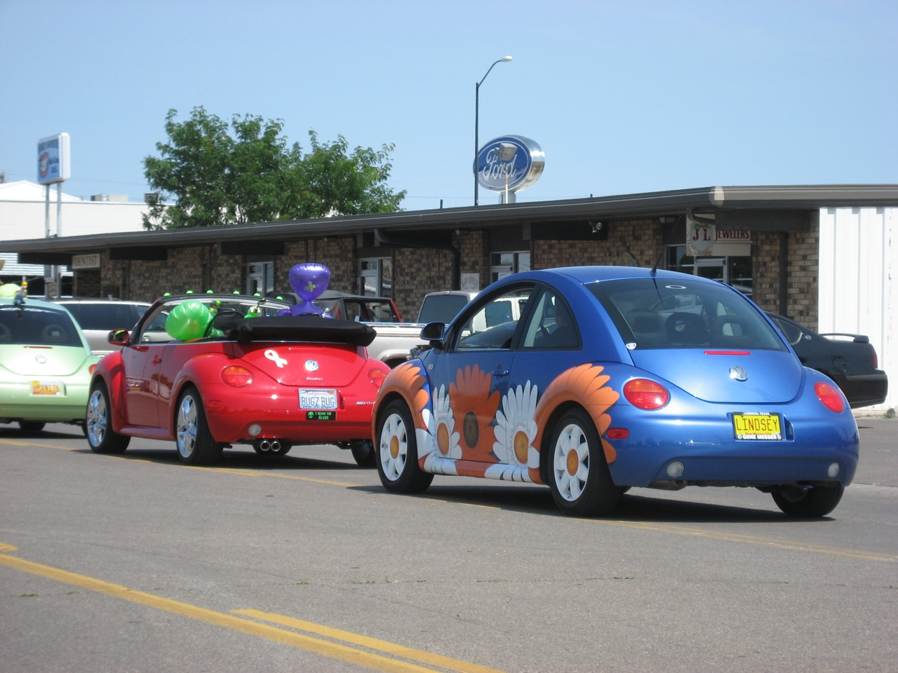 Roswell R2K Parade