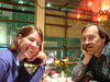 Dinner with Gina Blaber and Larry Wall by crucially