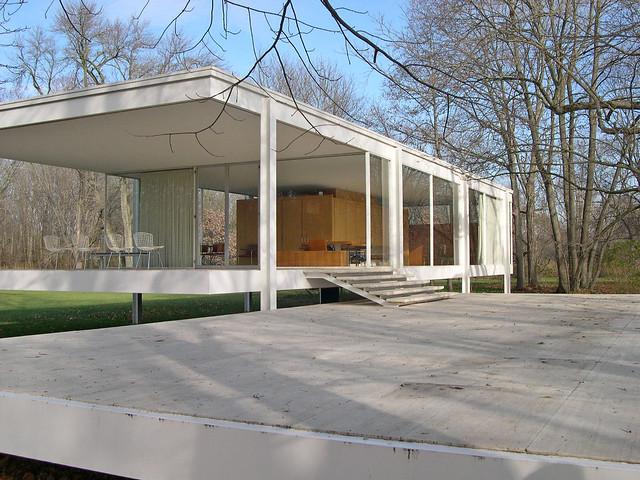 farnsworth house a gallery on flickr. Black Bedroom Furniture Sets. Home Design Ideas
