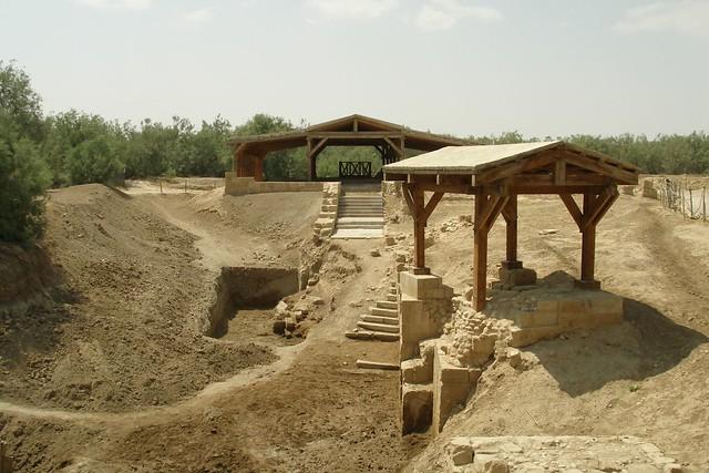 Jesus Christ baptism site (2007-05-811)