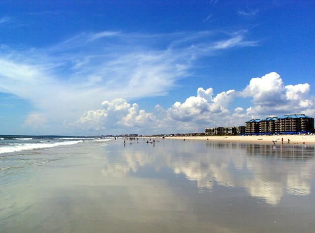 Summer Beach, Amelia Island, Florida Reflection