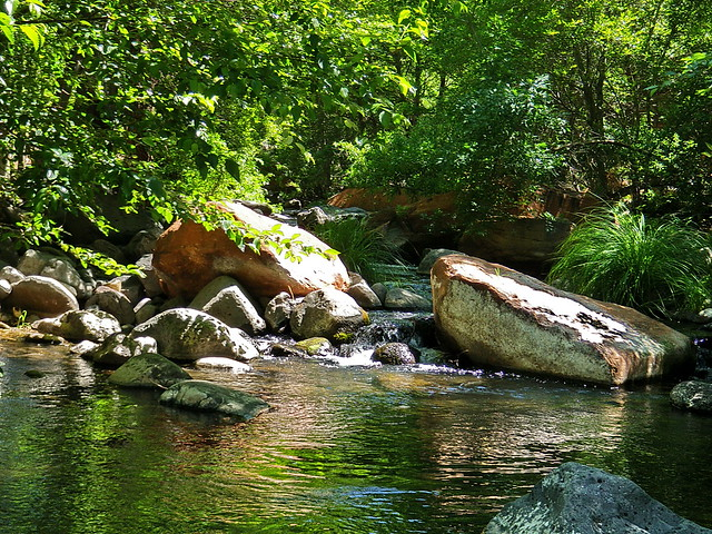 Wet Beaver Creek at Bell Crossing Great hike with AHOTE Arizona Hiking