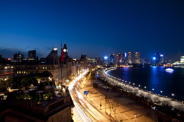 Shanghai's Bund at Night