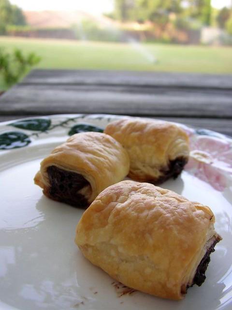 ... - Turboschnelle Petits pains au chocolat | Flickr - Photo Sharing