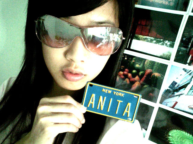 Anita's name card., Panasonic SV-AS10