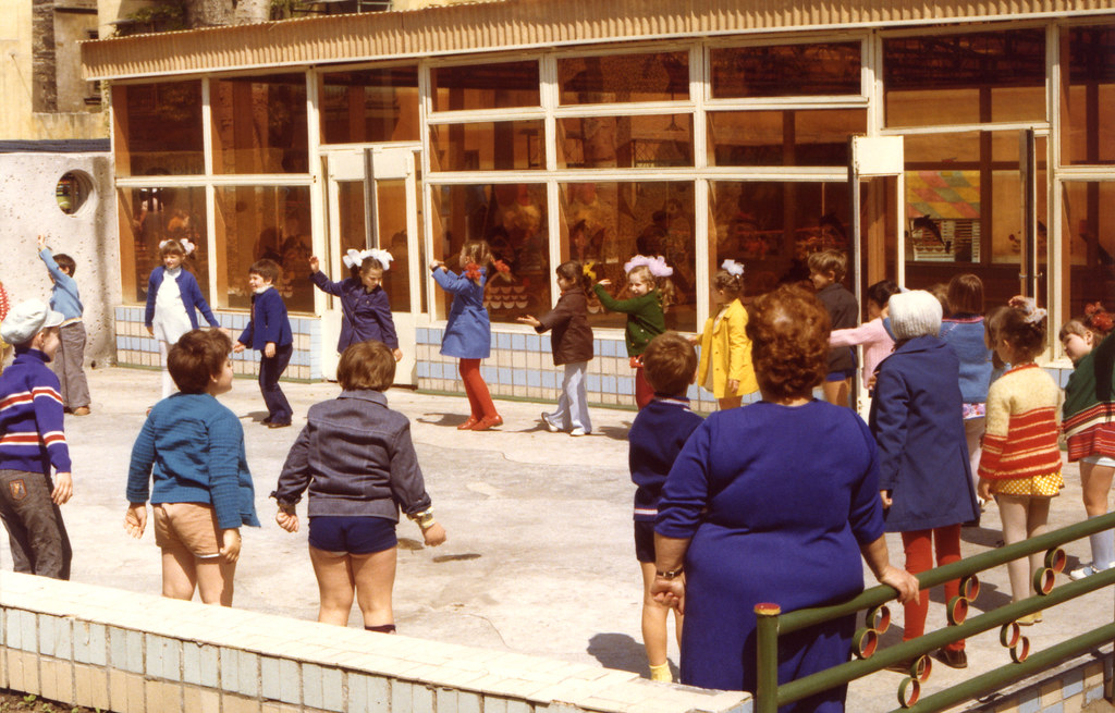 Kindergarten, Odessa, Ukraine, 5-27-1977
