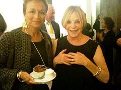 Board member Lynn Kroll & hostess Kharlene Boxenbaum