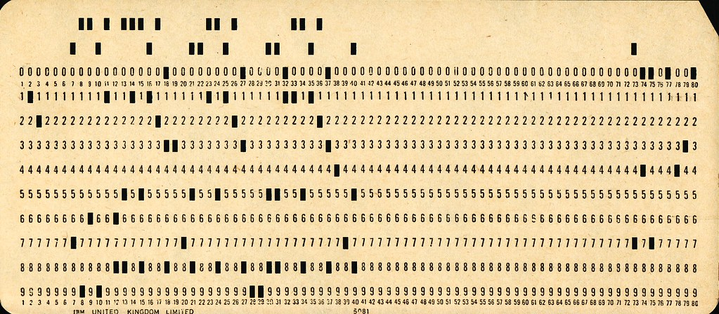 Used Punchcard
