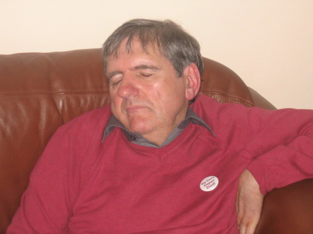 Dad, Asleep