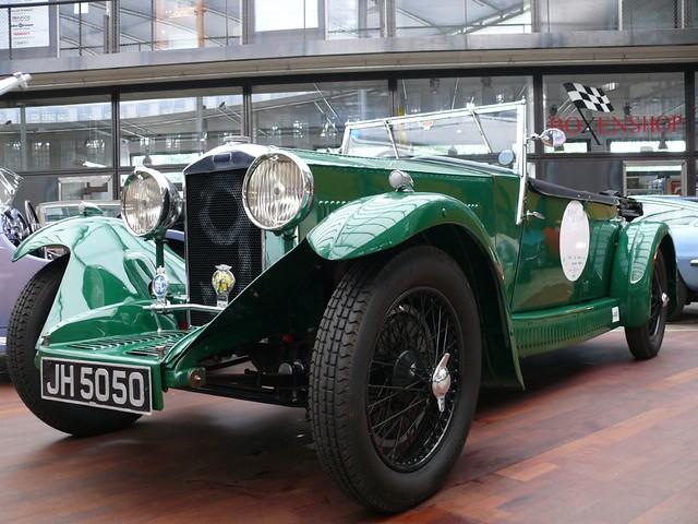 Invicta 2l Prototyp 1932 grün vl