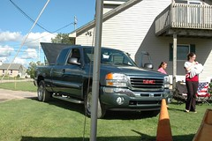 automobile, gmc, automotive exterior, pickup truck, wheel, vehicle, truck, bumper, land vehicle,