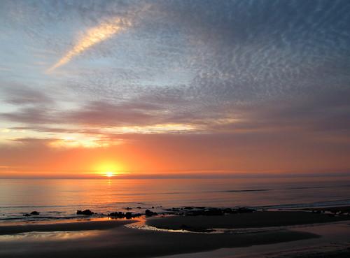 sunset yarmouthnovascotia