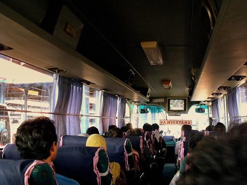 PUBLIC BUS SURABAYA TO PROBOLINGGO EAST JAVA INDONESIA