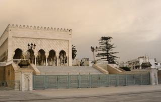 Image of  Mausoleum Mohammed V. morocco mausoleum marocco rabat mausoleo