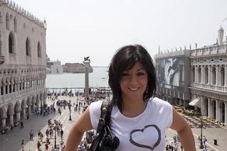 Image of Piazzetta San Marco near Venice. italy palazzo venezia sanmarco dogi gondole piazzetta