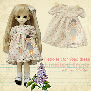 Retro felt for Yosd Dress (D) Limited Edition