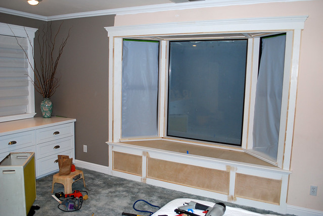 Bay window construction flickr photo sharing for Bay window construction details