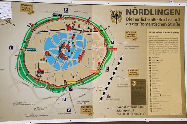 诺林根古地图
