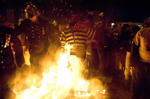 Lewes Bonfire Night 2001