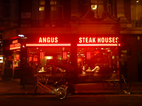 there's nothing like the glow of an angus