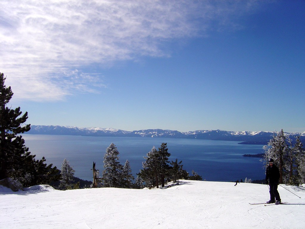 Lake Tahoe View from the Top of the Lift