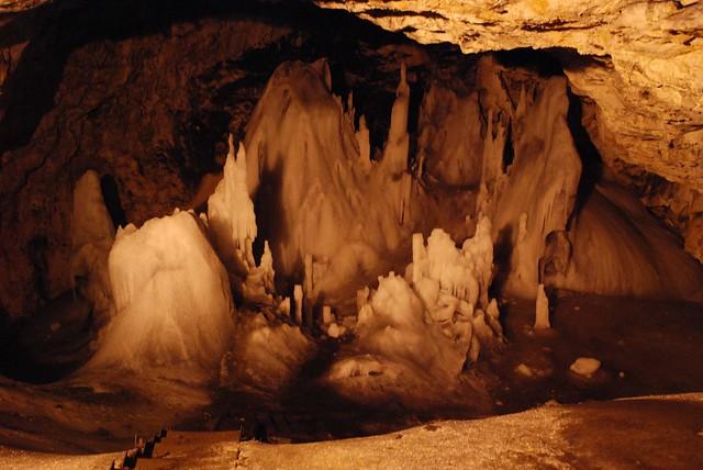 Scarisoara Glacier Cave