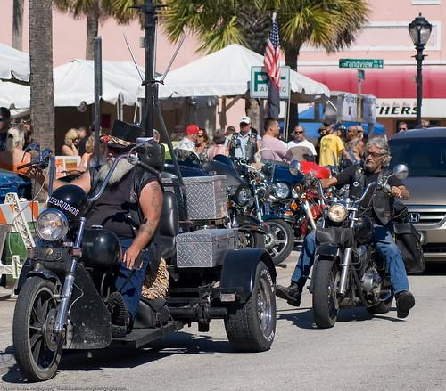 Trike on Main Street