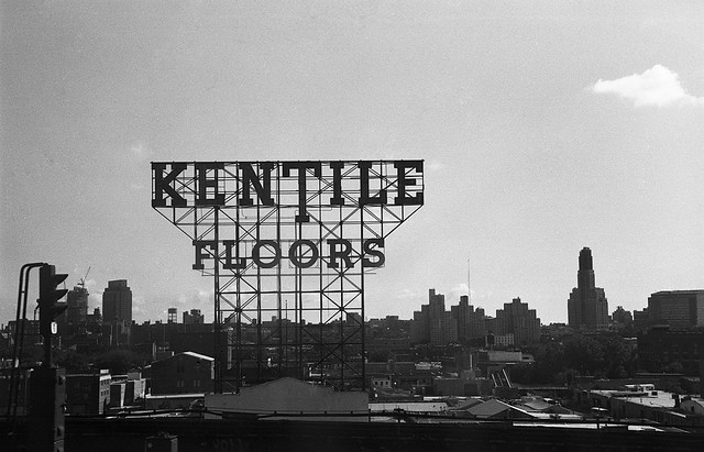Gowanus' Kentile Floors Sign Will Be Lit For One Night Next Month