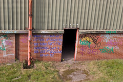 Derelict steelworks