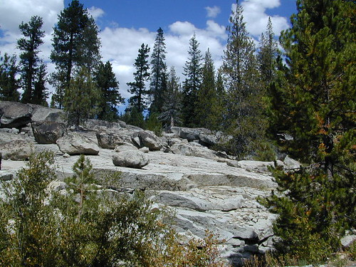 Granite Slabs of Sierra Nevada