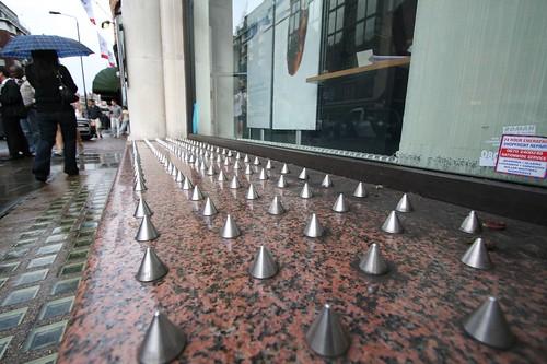 Spikes Near Harrods - London