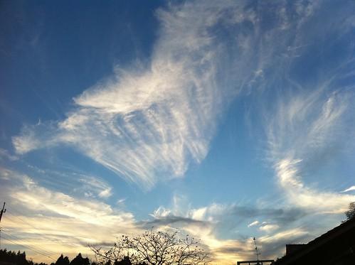 sky taken by iPhone