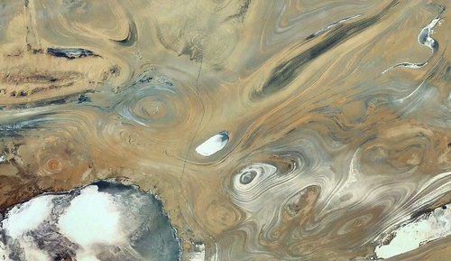 landscape iran image satellite salt geology semnan diapir greatkavir