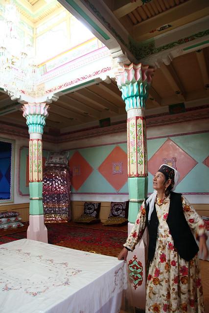 タシュクルガン、タジク族の民家