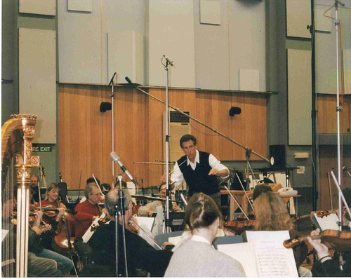 With the London Symphony, recording at Abbey Road | by JR Archive
