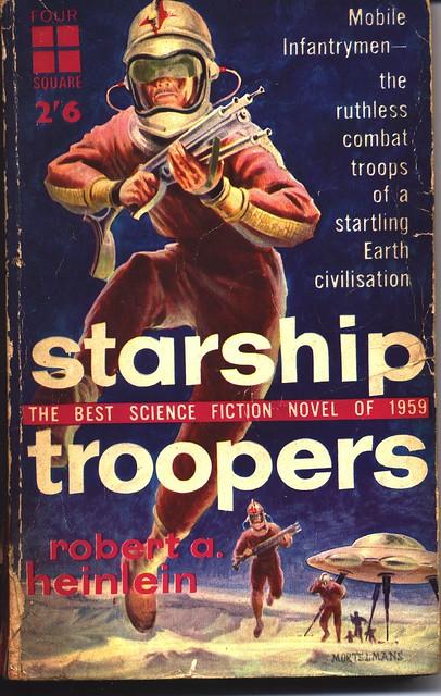 Starship Troopers Robert A. Heinlein 1st ed. 1959 Rare!