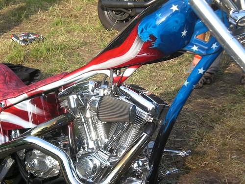 Harley Davidson - Engine, Tank